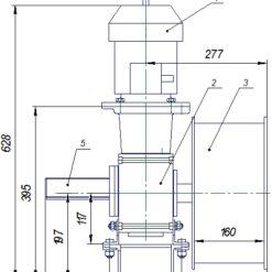 Привод театрального занавеса ПЗЧ-63 схема