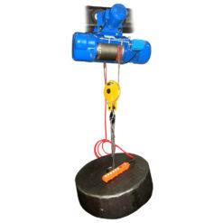 Таль электрическая CD1 с электрической тележкой передвижения 2 тонны - общий вид