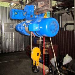 Таль электрическая CD1 с электрической тележкой передвижения - на балке