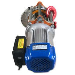 Лебедка электрическая KCD-500/1000 220В - вид со стороны двигателя