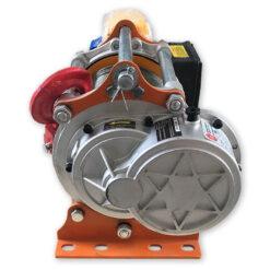 Лебедка электрическая KCD-500/1000 220В - вид со стороны редуктора