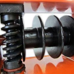 Лебедка ручная шестренная VS-500 с тремя барабанами